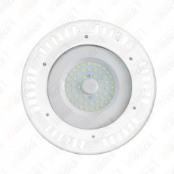 VT-9065 50W LED SMD High Bay UFO White Body 3000K 120°