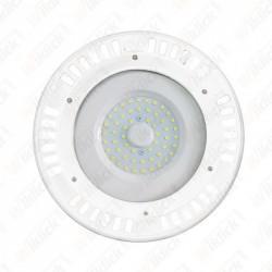 VT-9065 50W LED SMD High Bay UFO White Body 3000K 120°