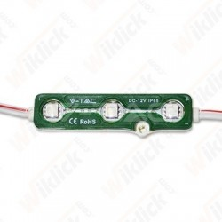 VT-50503 LED Module 3SMD Chips SMD5050 Green IP67