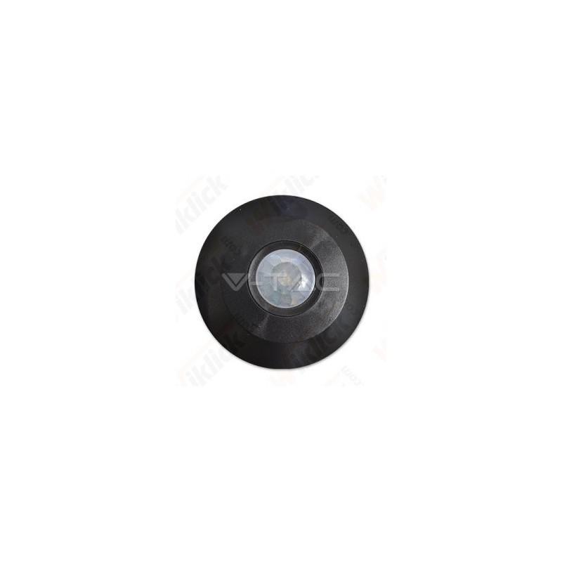 VT-8027 PIR Ceiling Sensor Flat Black