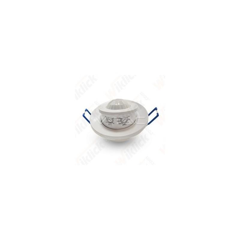 PIR Ceiling Sensor With Moving Head White