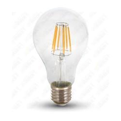 VT-1978 LED Bulb - 8W Filament E27 A67 6000K