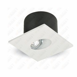 VT-1109SQ 3W LED Steplight Square 3000K