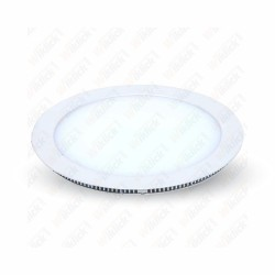VT-2200 RD 22W LED Panel Downlight - Round 6000K - SENZA Driver