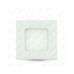 VT-307 3W LED Premium Panel Downlight - Square 4000K