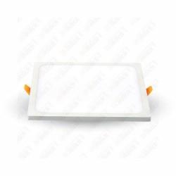 VT-888 8W LED Frameless Panel Light Square 6000K