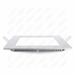 VT-1207 12W LED Premium Panel Downlight - Square 3000K