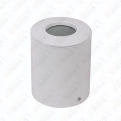 VT-711 GU10 Fitting Round Gypsum White IP54
