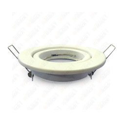 VT-7227 GU10 Housing Round Movable White
