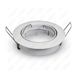 VT-779RD GU10 Fitting Round Movable White