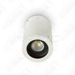 VT-796 GU10 Fitting Surface Round White