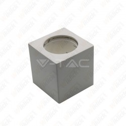 VT-727 GU10 Fitting Square Gypsum White