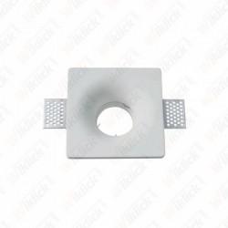 VT-859SQ GU10 Fitting Square White