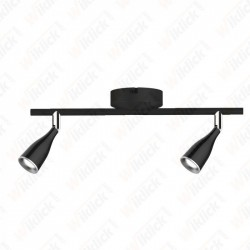 VT-810 9W LED Wall Lamp 3000K Black