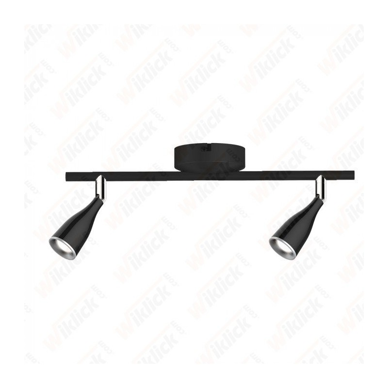 VT-810 9W LED Wall Lamp 3000K Black