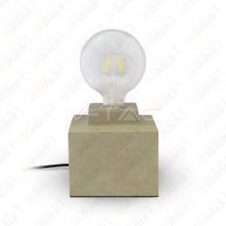 VT-7160 Concrete Table Lamp Diametro 160mm