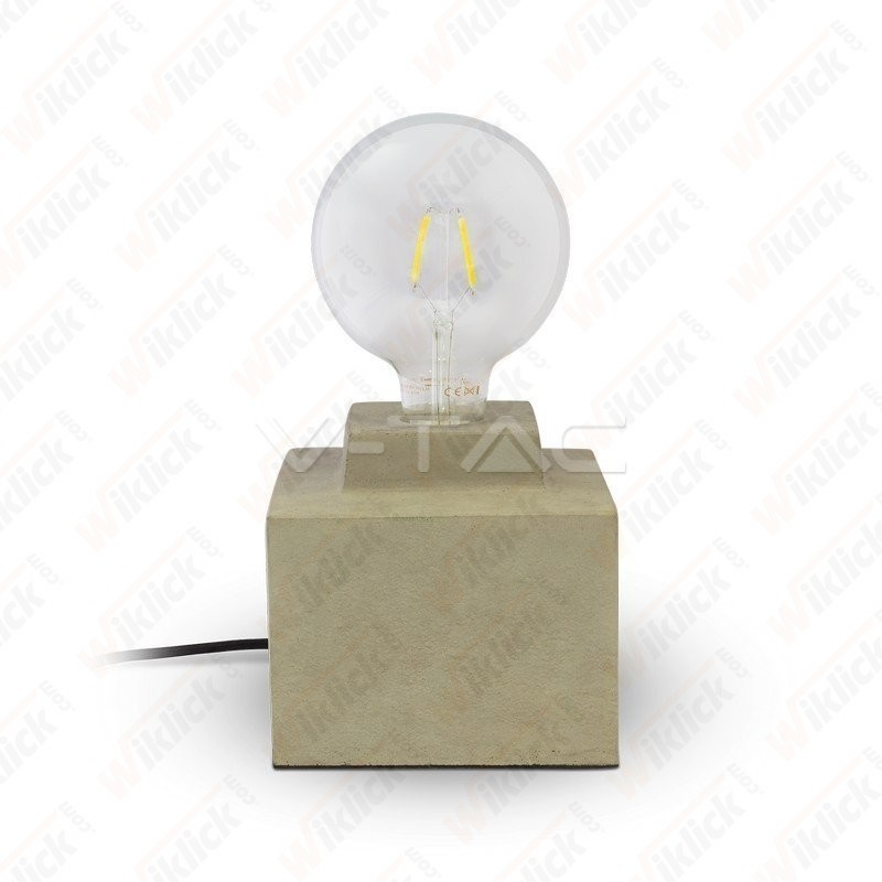 VT-7160 Concrete Table Lamp Diametro 160mm