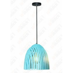 VT-7255 Pendant Light Cone Prism Blue D250*270mm