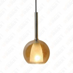 VT-7304 Pendant Light Double Glass Amber+White ?300??