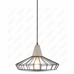 VT-7330 Pendant Light Concrete+Mesh ?330??