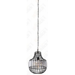VT-7334 Pendant Light Metal W/Crystel Bottom D300*360mm