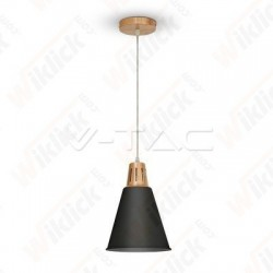 VT-7520 Modern Pendant Light Red Cooper+Sand Black Diametro 220