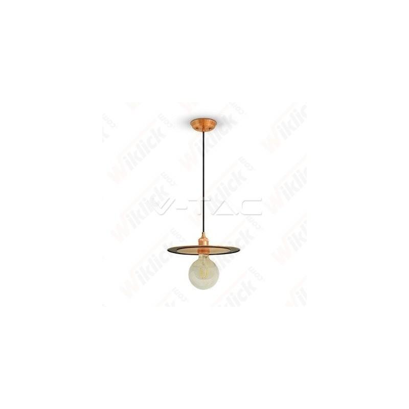 VT-7777 Metal Pendant Light Rose Gold