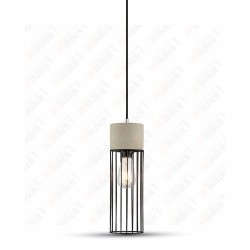 VT-7121 Pendant Light Concrete+Mesh ?120??