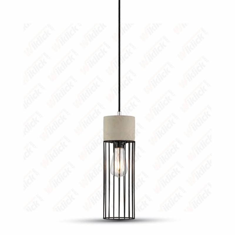 VT-7121 Pendant Light Concrete+Mesh ?120??