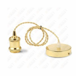 VT-7555 Pendant Light holder Matt Gold