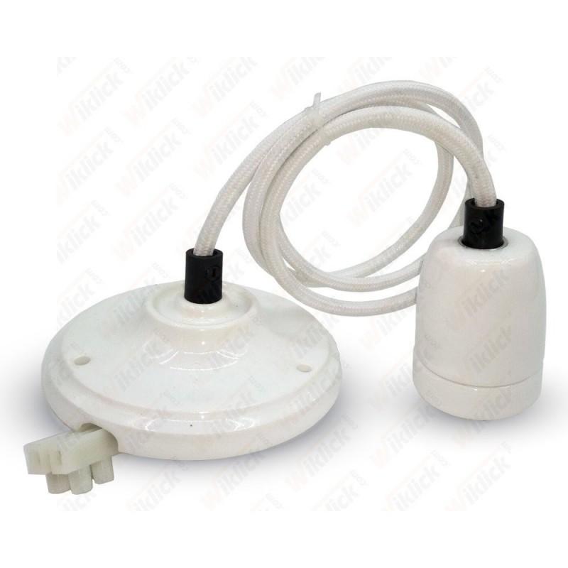 VT-7998 Porcelan Lamp Pendant White