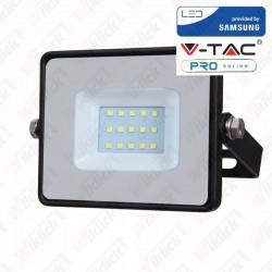 10W LED Floodlight Smd Samsung Chip Black Body 3000K