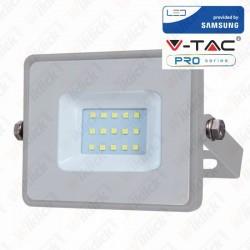 10W LED Floodlight Smd Samsung Chip Grey Body 3000K