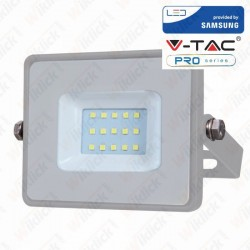 10W LED Floodlight Smd Samsung Chip Grey Body 4000K