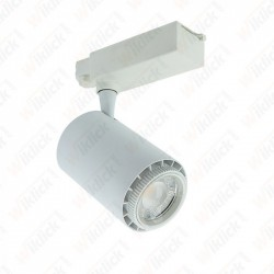 45W LED COB Tracklight White Body 3 in 1