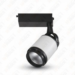 VT-4512 10W LED Track Light Black&White Body 3000K