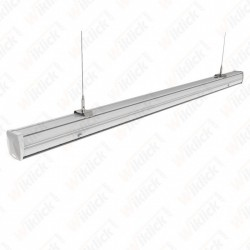 VT-4550D 50W LED Linear Follow Trunking Double Asymmetrick Lens 4000K
