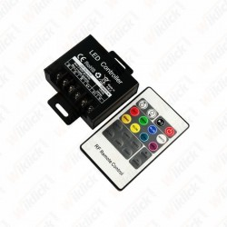 LED RGB Controller With 20 Key RF Remote Control Small