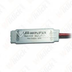 Mini Amplifier for LED Strip RGB 5050 3*4A