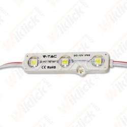 VT-50503 LED Module 3SMD Chips SMD5050 6000K IP67
