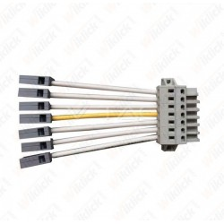 Feed-In Male Connector-8 Wires