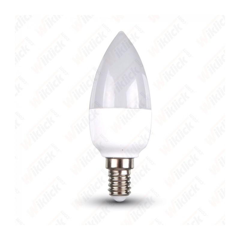 V-TAC VT-1854D Lampadina LED E14 6W Candela 2700K Dimmerabile - SKU 4213