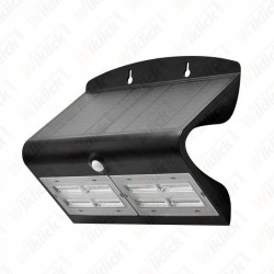 VT-767-7 6.8W LED Solar Wall Light 4000K+4000K Black+Black Body