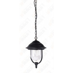 VT-850 Garden Lamp With Clear PC Cover Black