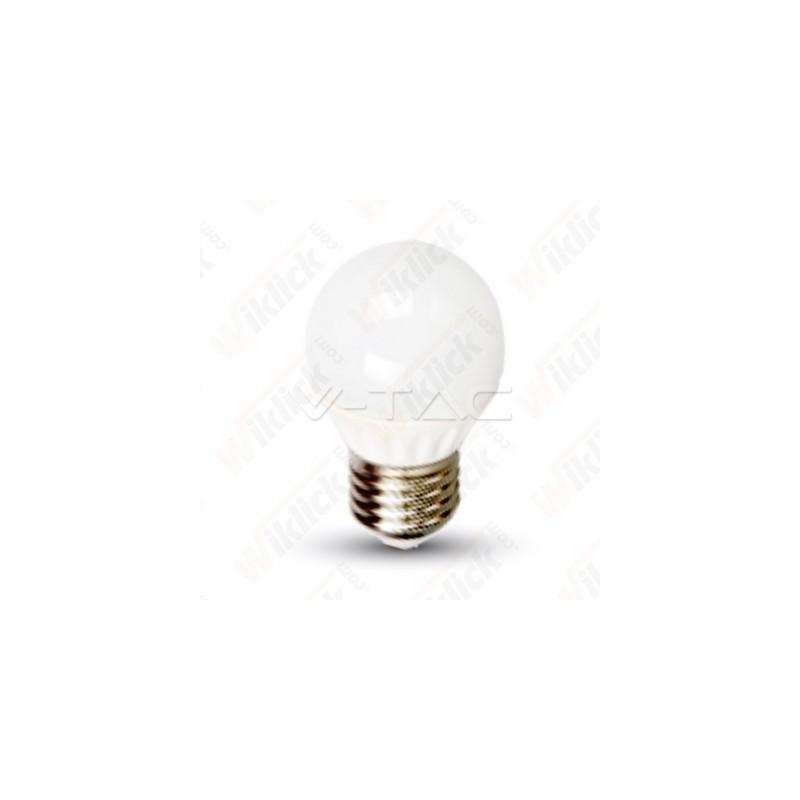 V-TAC VT-1830 Lampadina LED E27 4W G45 4000K - SKU 4162