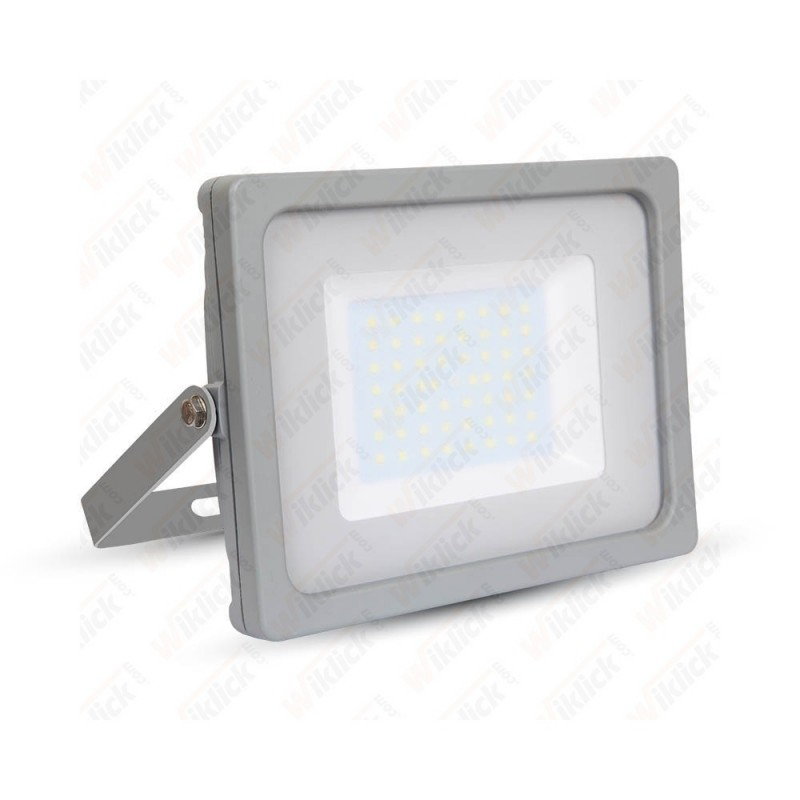 V-TAC VT-4955 Faro LED SMD 50W Colore Grigio 3000K IP65 - SKU 5834