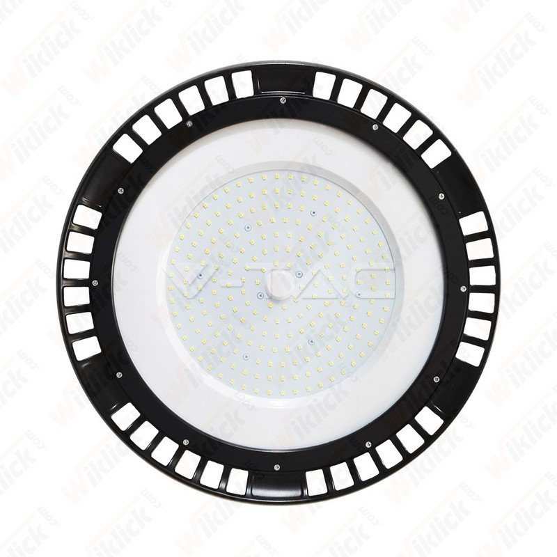 V-TAC VT-9217 Campana LED SMD Industriale 200W A++ UFO con Driver MeanWell 130LM/W 120° 4000K Dimmerabile IP44 - SKU 5593