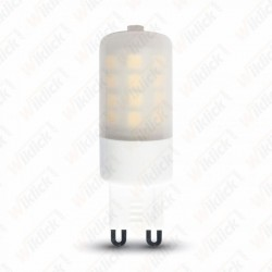 LED Spotlight - 3W G9 Plastic Milk Cover 2700K Dimmable