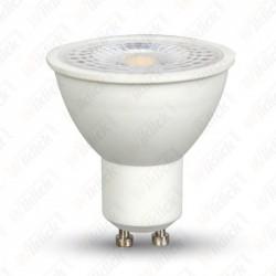 V-TAC VT-2778 LAMPADINA A FARETTO LED GU10 7W CON LENTE 110° LUCE BIANCO NATURALE