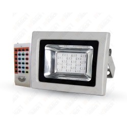 10W LED Floodlight RGB With RF Remote SMD